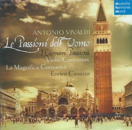 Antonio Vivaldi: Le Passioni dell Uomo, Violin Concertos (2CD, Deutsche Harmonia Mundi)