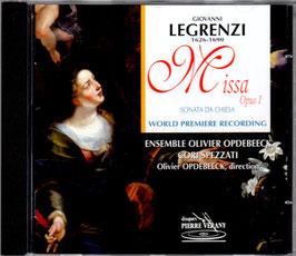 Giovanni Legrenzi: Missa Opus 1, Sonata da Chiesa (Pierre Verany)