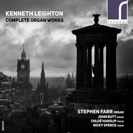 Kenneth Leighton: Complete Organ Works (3CD, Resonus)