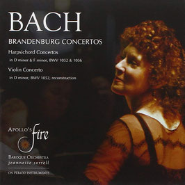 Johann Sebastian Bach: Brandenburg Concertos, Harpsichord Concertos, Violin Concerto (2CD, Avie)