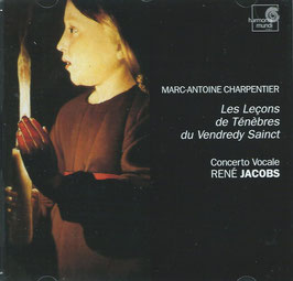 Marc-Antoine Charpentier: Les Leçons de Ténèbres du Vendredi Sainct (Harmonia Mundi)