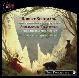 Robert Schumann: Piano Quartet in E Flat Major Op. 47, Sigismond Thalberg: Piano Trio in A Major Op. 69 (Musica Omnia)