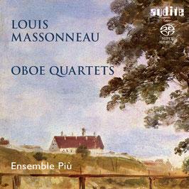 Louis Massonneau: Oboe Quartets (SACD, Audite)