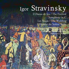 Igor Stravinsky: L'Oiseau de feu, Symphony in C, Les Noces, L'Histoire du Soldat (2SACD, Praga)