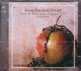 Georg Friedrich Händel: Suites de Pieces pour le Clavecin 1720 (2CD, CPO)