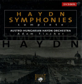 Franz Joseph Haydn: Symphonies 1-104, complete (33CD, Brilliant)