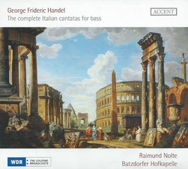 Georg Friedrich Händel: The complete Italian cantatas for bass (Accent)