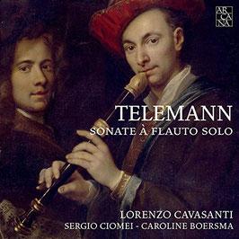 Georg Philipp Telemann: Sonate à Flauto Solo (Arcana Outhere)