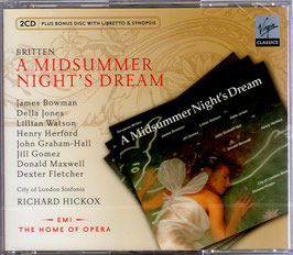 Benjamin Britten: A Midsummer Night's Dream (2CD, CD, Virgin)