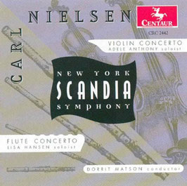 Carl Nielsen: Violin Concerto, Flute Concerto (Centaur)