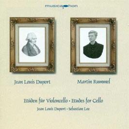 Jean Louis Duport, Sebastian Lee: Etüden für Violoncello (2CD, Musicaphon)