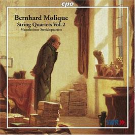 Bernhard Molique: String Quartets Vol. 2 (CPO)