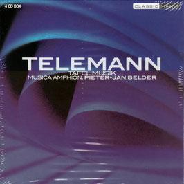Georg Philipp Telemann: Tafelmusik complete (4CD, Classic Mania)