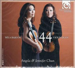 Béla Bartók: 44 violin duos (Harmonia Mundi)