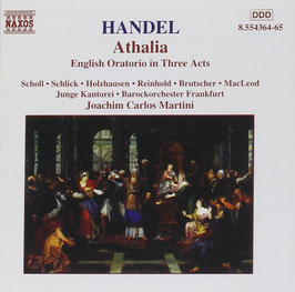 Georg Friedrich Händel: Athalia (2CD, Naxos)