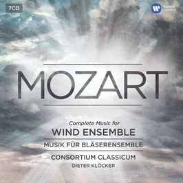Wolfgang Amadeus Mozart: Complete Music for Wind Ensemble (7CD, Warner)