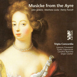 Musicke from the Ayre: Jenkins, Locke, Purcell (Cantus)