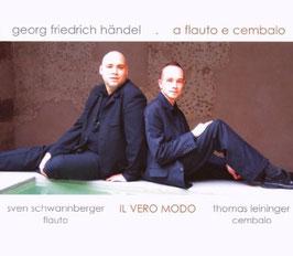 Georg Friedrich Händel: A flauto e cembalo (Thorofon)