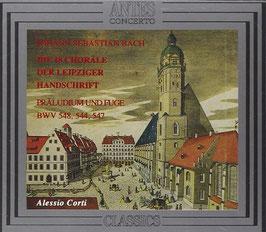Johann Sebastian Bach: Die 18 Choräle der Leipziger Handschrift (2CD, Antes)