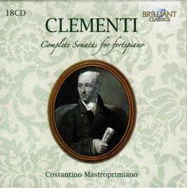 Muzio Clementi: Complete Sonatas for fortepiano (18CD, Brilliant)