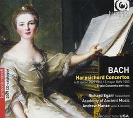 Johann Sebastian Bach: Harpsichord Concertos, Triple Concerto (Harmonia Mundi)