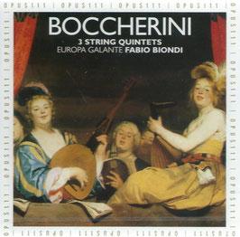 Luigi Boccherini: 3 String Quintets (Opus 111)