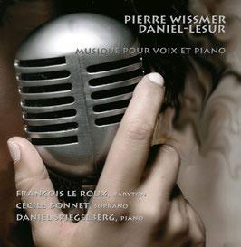 Pierre Wissmer, Jean-Yves Daniel-Lesur: Musique pour voix et piano (ASV)