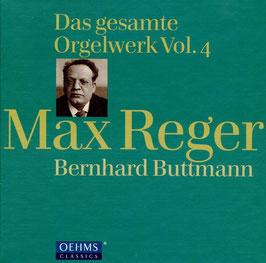 Max Reger: Das gesamte Orgelwerk Vol. 4 (4CD, Oehms)