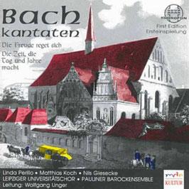 Johann Sebastian Bach: Kantaten Die Freude reget sich, Die Zeit die Tag und Jahre macht (Thorofon)