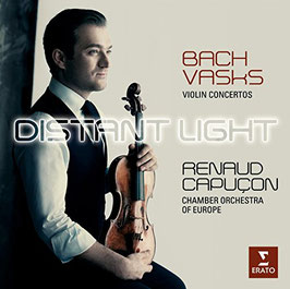 Peteris Vasks, Johann Sebastian Bach: Distant Light, Violin Concertos (Erato)