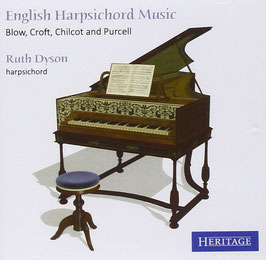 English Harpsichord Music: Blow, Croft, Chilcot, Purcell (Heritage)