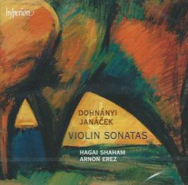 Ernó Dohnányi, Leos Janácek: Violin Sonatas (Hyperion)