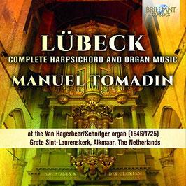 Vincent Lübeck: Complete Harpsichord and Organ Music at the Van Hagerbeer organ (1646/1725) Grote Sint-Laurenskerk, Alkmaar, Netherlands (2CD, Brilliant)