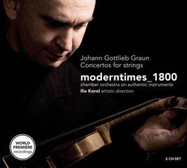 Johann Gottlieb Graun, Markus Heinrich Grauel: Concertos for strings (2CD, Challenge Classics)