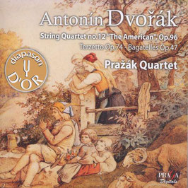 Antonín Dvorák: String Quartet no. 12 'The American' Op. 96, Terzetto Op. 74, Bagatelles Op. 47 (SACD, Praga)