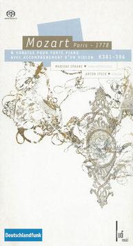 Wolfgang Amadeus Mozart: 6 Sonates pour Forté Piano avec Accompagnement d'un Violon K301-306 (2SACD, Boek, Ludi Musici)