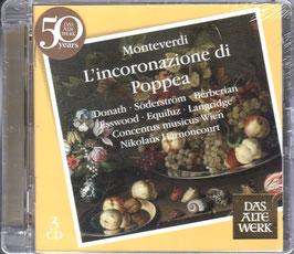 Claudio Monteverdi: L'Incoronazione di Poppea (3CD, Teldec)