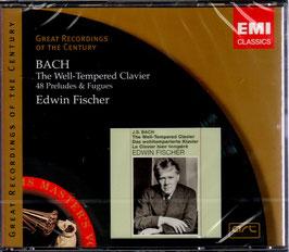 Johann Sebastian Bach: The Well-Tempered Clavier, 48 Preludes & Fugues (3CD, EMI)