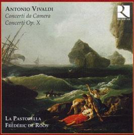 Antonio Vivaldi: Concerti da Camera, Concerti Op. X (2CD, Ricercar)