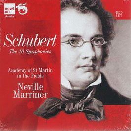 Franz Schubert: The 10 Symphonies (6CD, Newton)