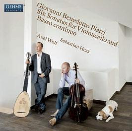 Giovanni Benedetto Platti: Six Sonatas for Violoncello and Basso continuo (Oehms)