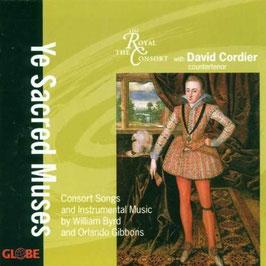 William Byrd. Orlando Gibbons: Ye Sacred Music, Consort Songs and Instrumental Music (Globe)