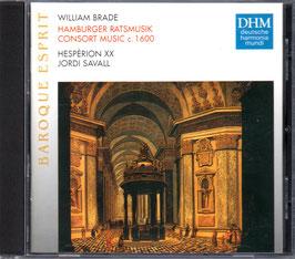 William Brade: Hamurger Ratsmusik, Consort Music c. 1600 (Deutsche Harmonia Mundi)
