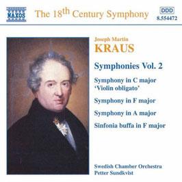 Joseph Martin Kraus: Symphonies Vol. 2 (Naxos)