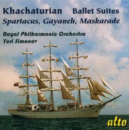Aram Khachaturian: Ballet Suites, Spartacus, Gayaneh, Maskarade (Alto)