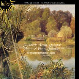 Johann Nepomuk Hummel: Piano Quintet, Franz Schubert: Trout Quintet (Hyperion Helios)
