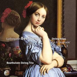 Ludwig van Beethoven: String trios Op. 8 'Serenade', Op. 9 Nos. 1, 3 (SACD, Praga)