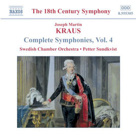 Joseph Martin Kraus: Symphonies Vol. 4 (Naxos)