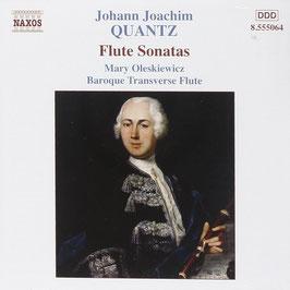 Johann Joachim Quantz: Flute Sonatas (Naxos)