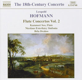 Leopold Hofman: Flute Concertos vol. 2 (Naxos)